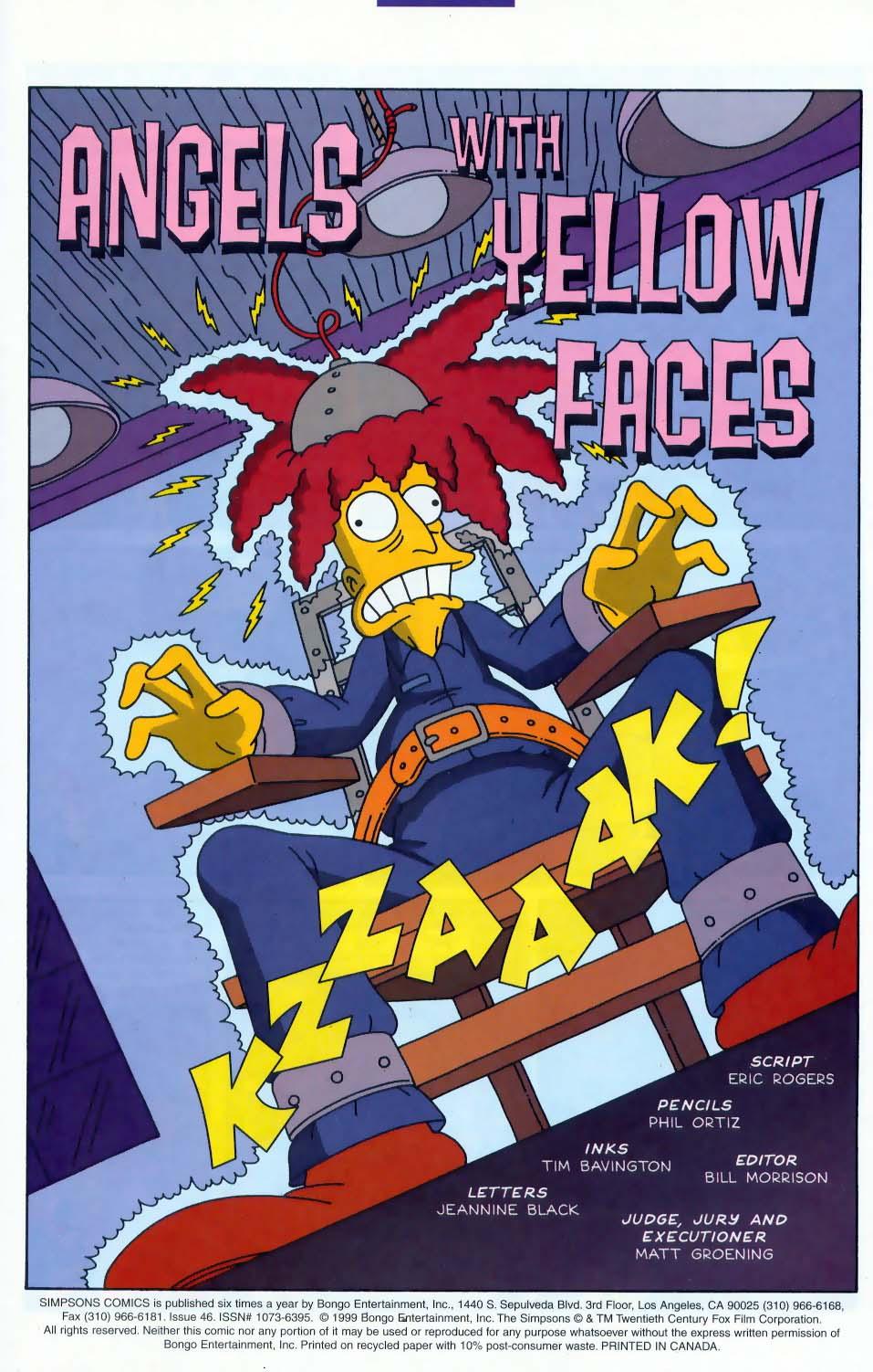 Read online Simpsons Comics comic -  Issue #46 - 2
