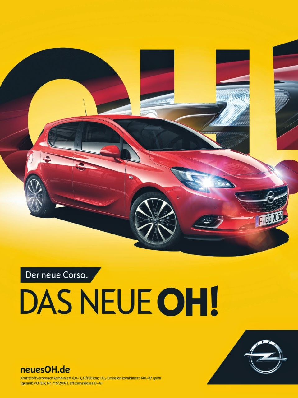 Blog: The New OH! From Opel! Start Of Campaign