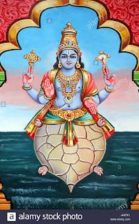 भगवान विष्णु के दूसरे अवतार: कुर्म अवतार की कथा। Story Of Kitna Avtar by Lord Vishnu.