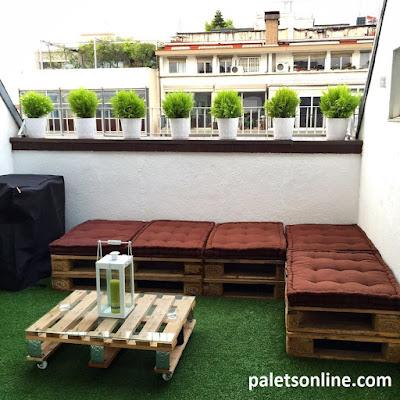 chill out de europalets + mesa palet dusseldorf Paletsonline.com