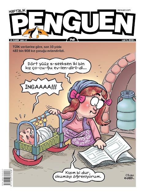 Penguen Dergisi | 24 Kasım 2016 Kapak Karikatürü