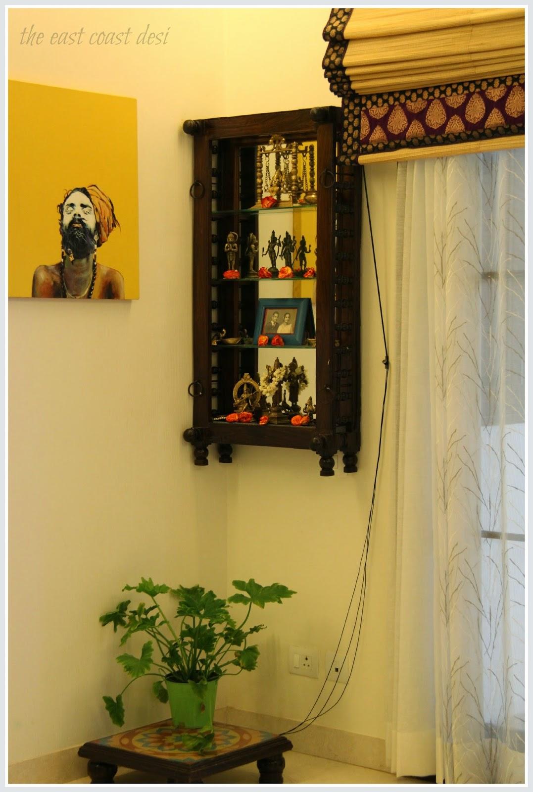 Wall Mounted Pooja Cabinet | Joy Studio Design Gallery ...