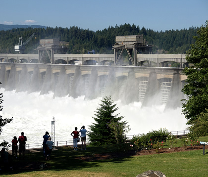 dam on the Columbia River