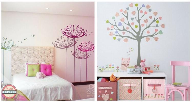 adesivo de parede quarto infantil