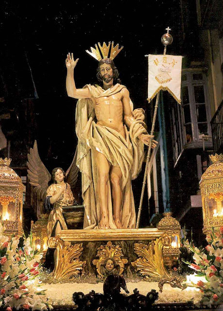 Nosso Senhor na Ressurreição, Granada, Espanha.