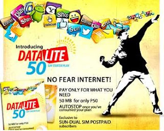 Sun Cellular DATA LITE 50 Plan