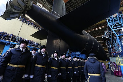 Russia Launches Its Fleet's 'Most Deadly Ever Nuclear Attack Submarine