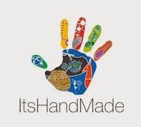 ItsHandMade-Logo Partecipazione Notte Stellata in blu perlescenteColore Blu Tema Stelle e Costellazioni