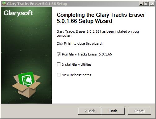 تحميل وتثبيت وشرح برنامج Glary Tracks Eraser لتنظيف وتسريع الحاسوب