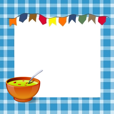 etiquetas de comida de festa junina