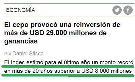 La DECADA GANADA.- Inversiones