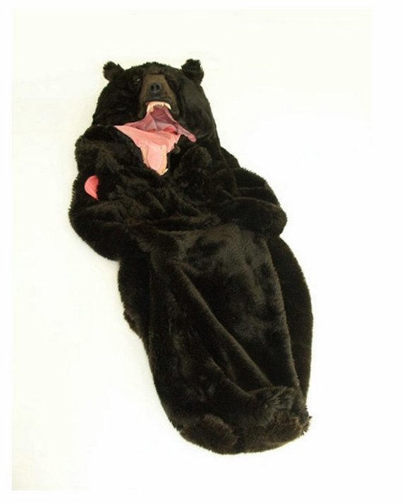 Diseño de sleeping bag de oso