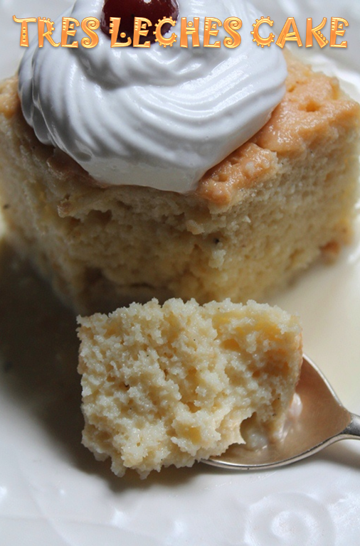 Tres Leches Cake Recipe - Three Milk Cake Recipe - Yummy Tummy