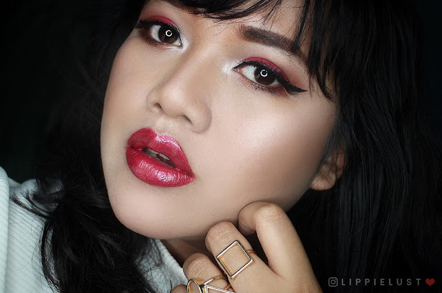 rissa lippielust lip swatcher Indonesia