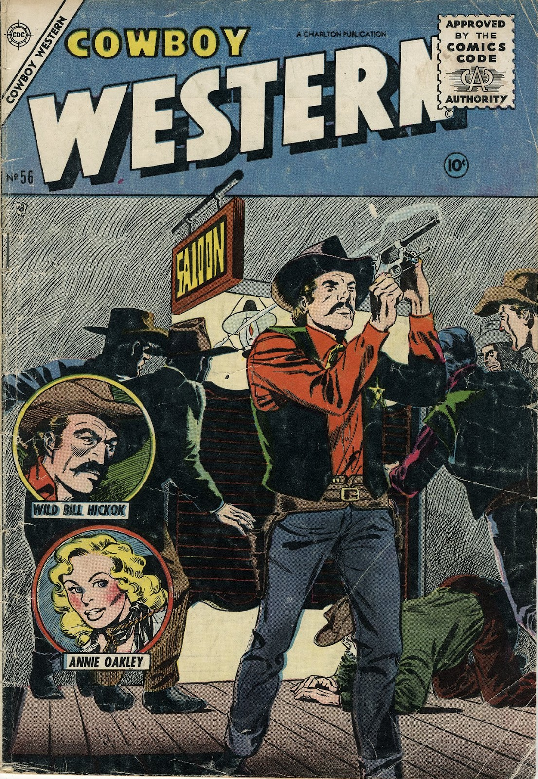 Cowboy Western issue 56 - Page 1