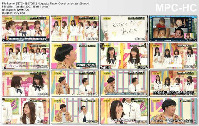 170612 Nogizaka Under Construction Ep 109 Subtitle Indonesia