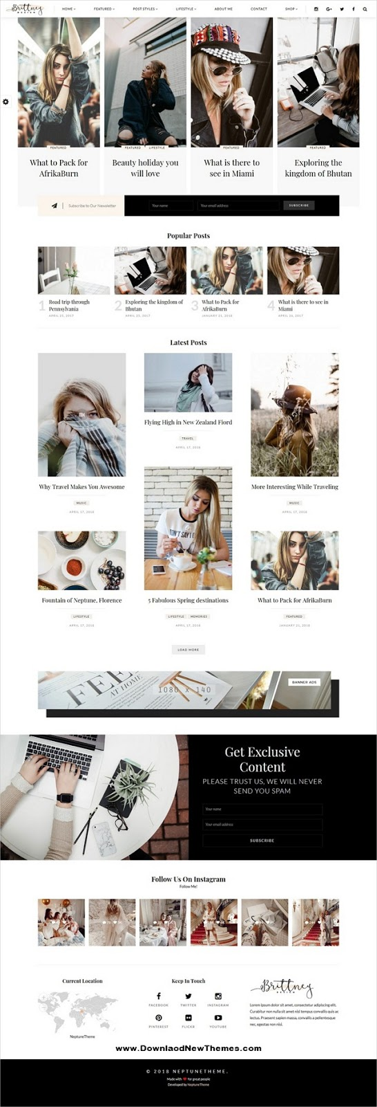 Best Responsive Personal WordPress Blog Theme