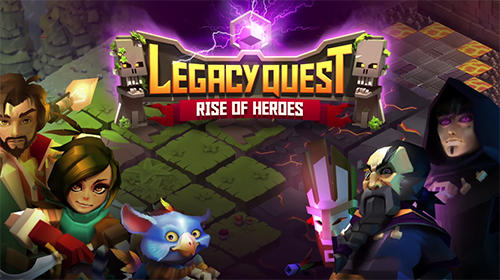 Download Game Legacy Quest : Rise of Heroes Apk V1.9.107 2