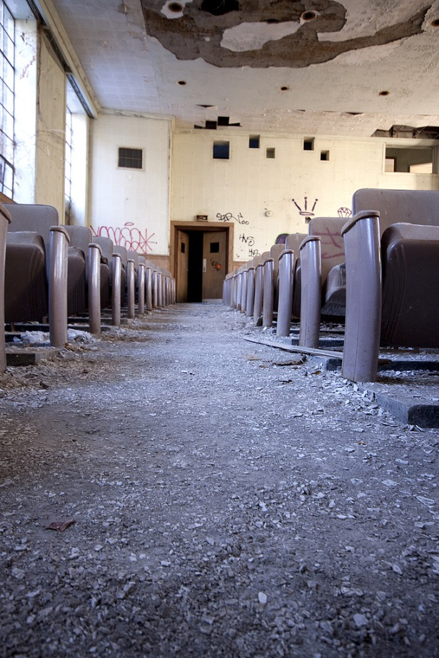 Deserted Places: Inside An Abandoned All-Girls School, Part 1