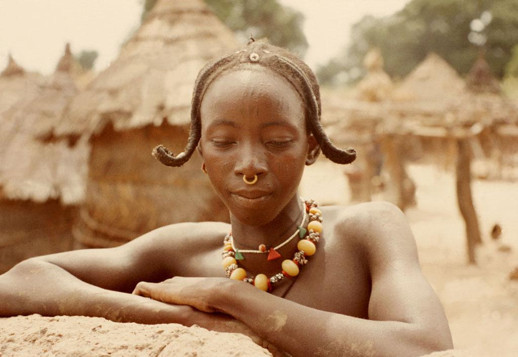 Bamana woman hairstyle