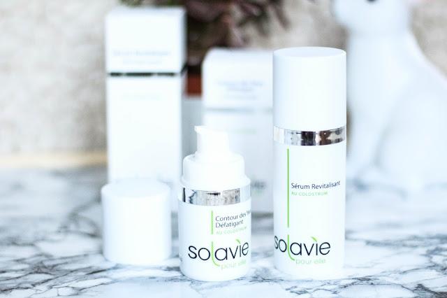 Contour défatiguant oeil et serum revitalisant Solavie