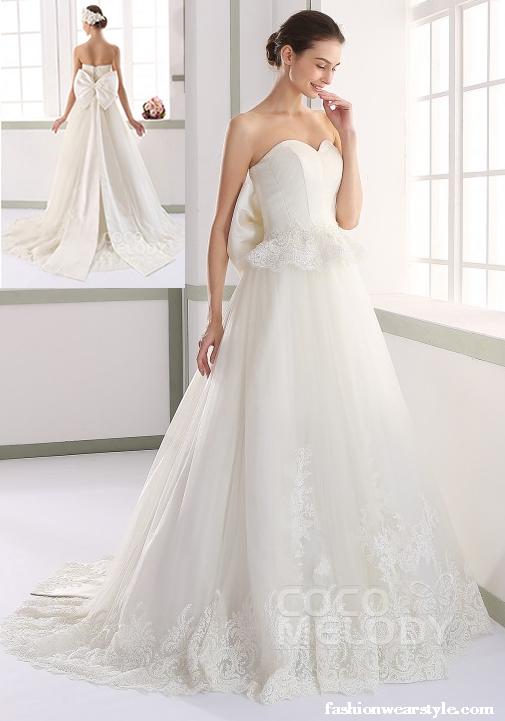 Coco Melody Fantasy Bridal Dresses 2016 www.fashionwearstyle.com