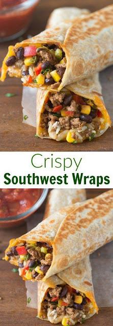 Crispy Southwest Wrap