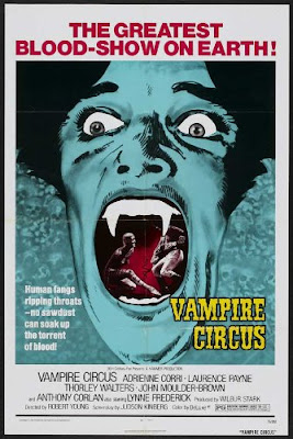 Poster - Vampire Circus (1972)