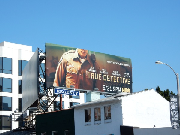 True Detective season 2 billboard