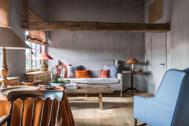 Culorile toamnei într-o casă din Belgia