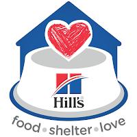 #HillsPetfoodshelterlove logo