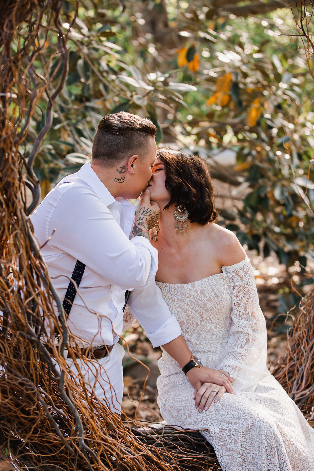 samuel white photography styling boho bride real proposal styled shoot floral design wedding cake stationery bridal gowns