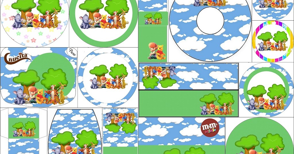 Winnie The Pooh Free Printable Candy Bar Labels Oh My