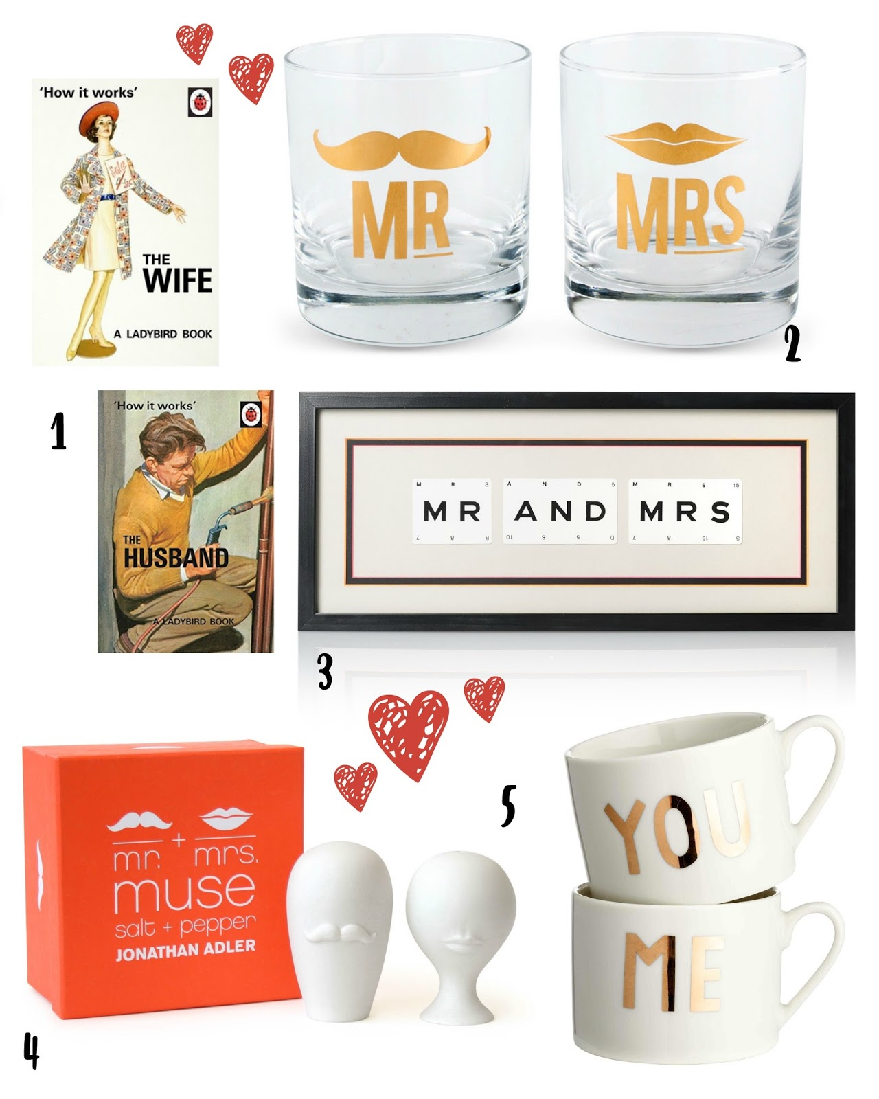 Mr And Mrs Gift Ideas
