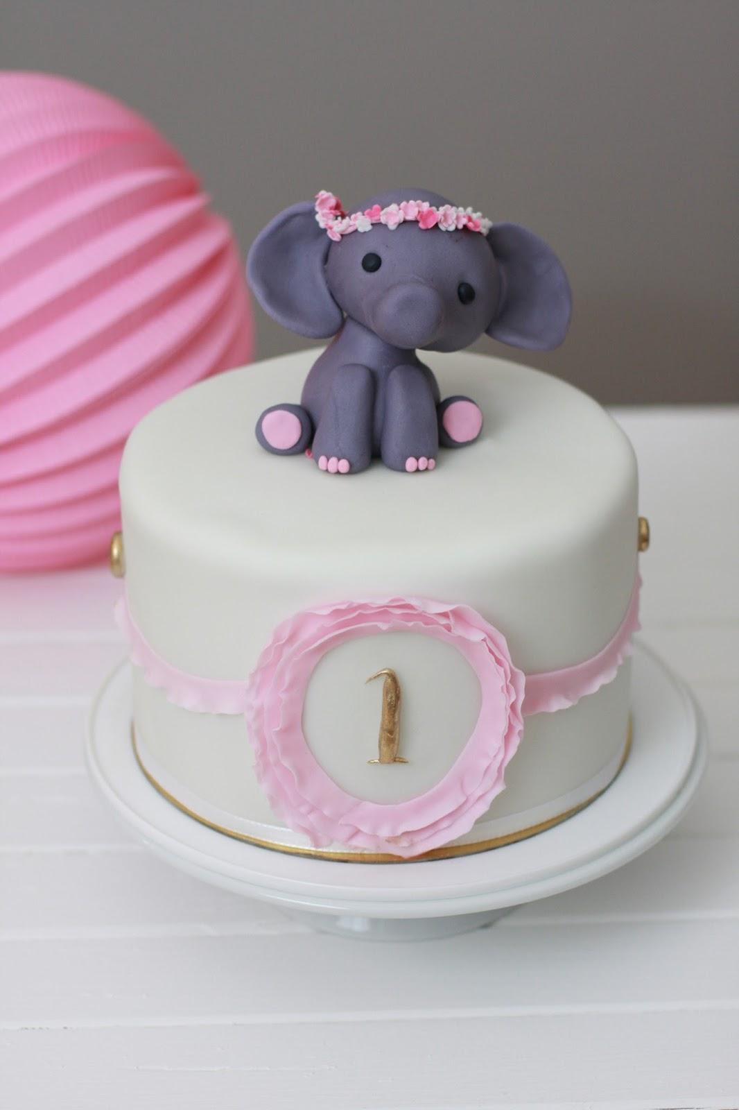 Feines Handwerk ElefantenTrtchen zum 1 Geburtstag