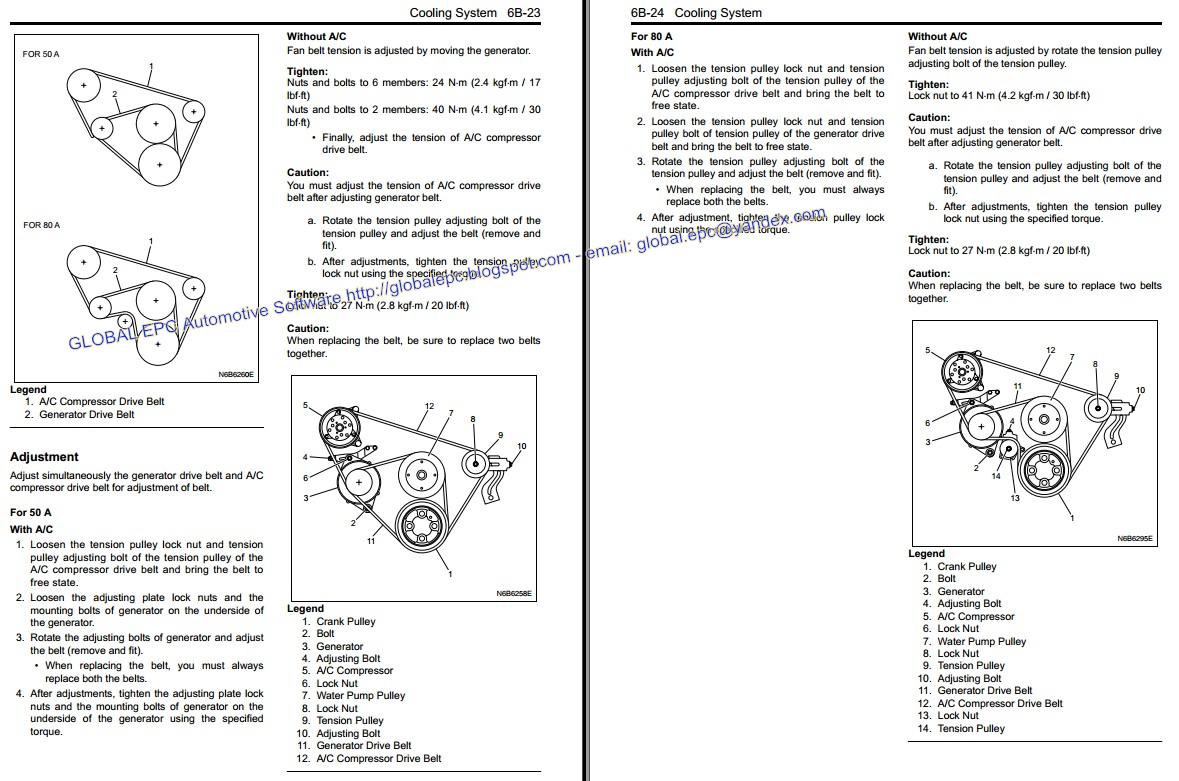 AUTO MOTO REPAIR MANUALS: ISUZU MY N-SERIES 2007 WORKSHOP