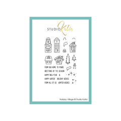 HOLIDAY VILLAGE | STAMP SET