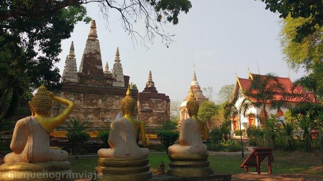 Gastos, chiang Mai, presupuesto, tailandia, norte, mercados, templos