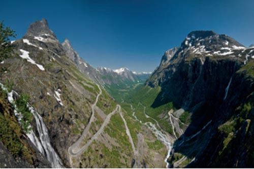TROLLSTIGEN Norwegia, 23 km