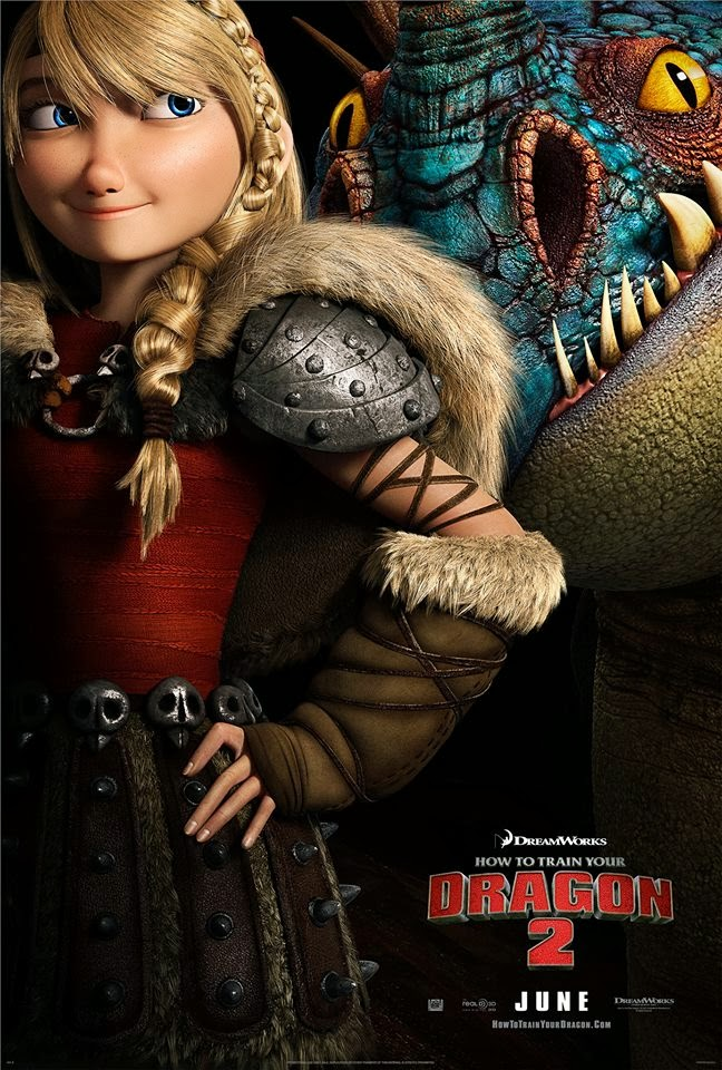How to Train Your Dragon 2 Astrid & Stormfly