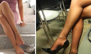 Αν μάθετε τι συμβολίζουν τα βραχιολάκια στο πόδι ίσως ξανασκεφτείτε αν θα τα φορέσετε