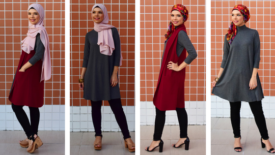 1a9b1417167f Modest Wear Lookbook feat Icovered - Simplicity in Vogue