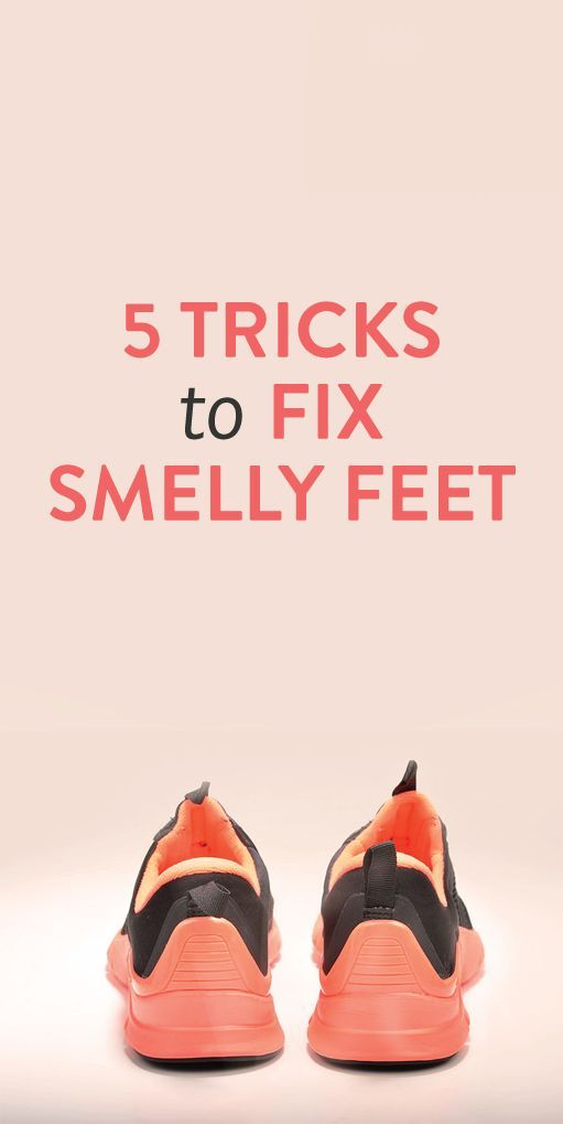 5 Tricks to Fix Smelly Feet