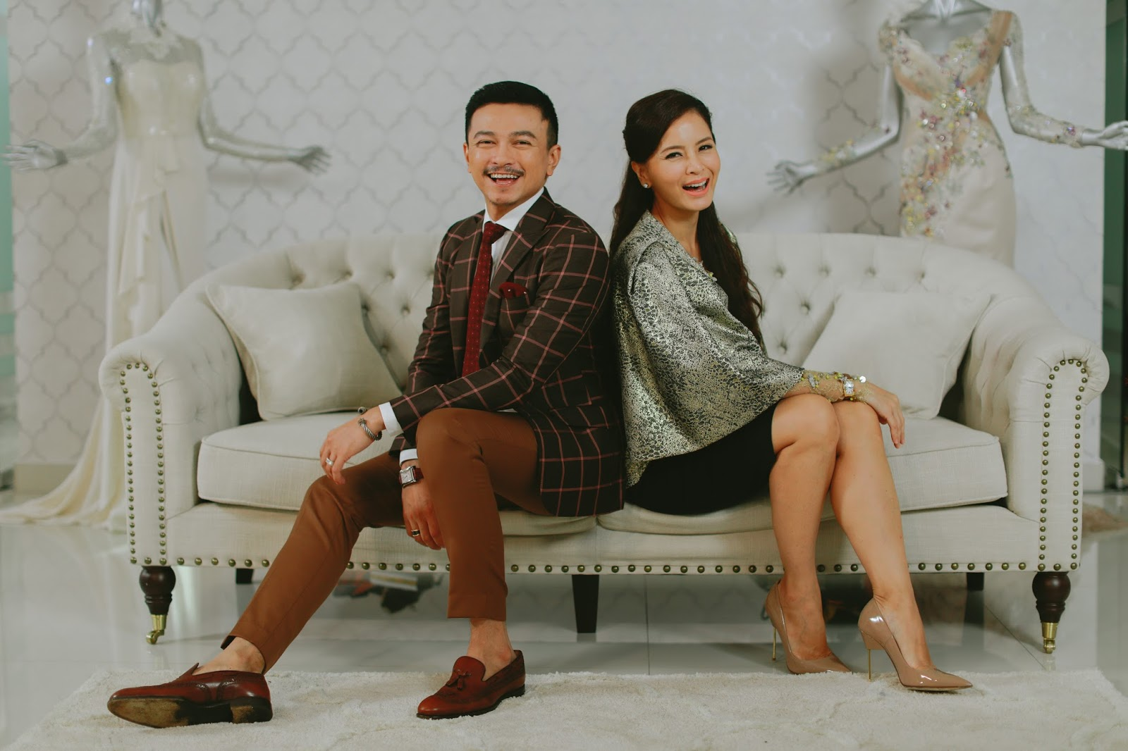 """Say Yes to the Dress Asia"""" announces Jovian and Daphne Iking as"""