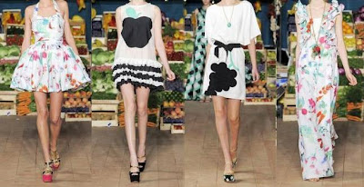 vestidos D&G primavera verano 2012