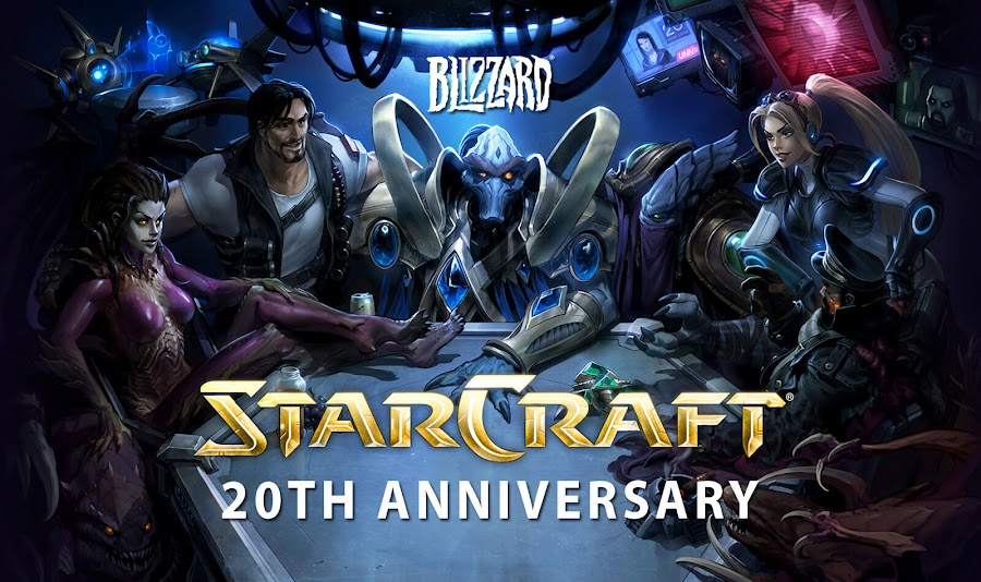 starcraft 20th anniversary blizzard