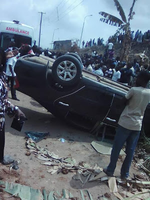 Photos: Pregnant Woman Dies In Fatal Accident At Obadore6