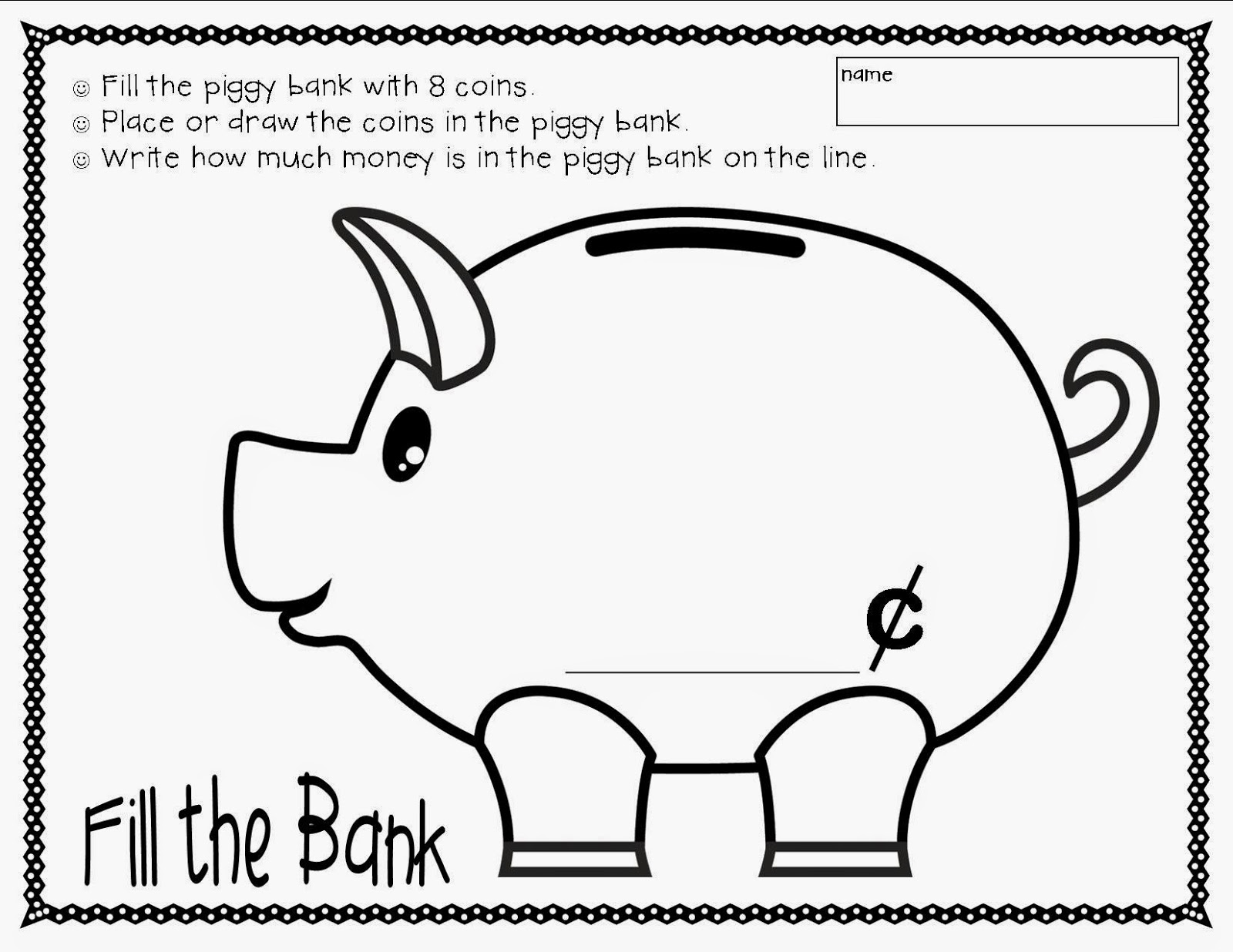 Fill The Bank Summer Bloggin Week 2 Wednesday