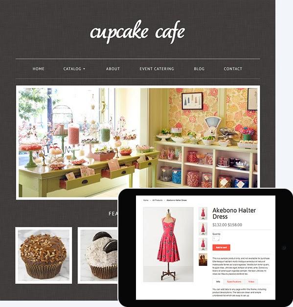 Contoh kedai online Shopify