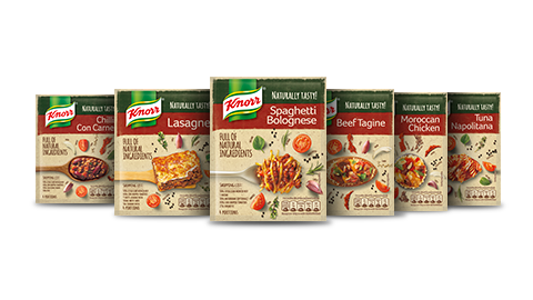 Knorr packet mix range